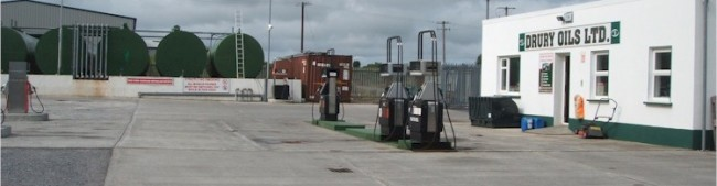 Retail Yard Pump Sales: Drury Oils Ltd Depot